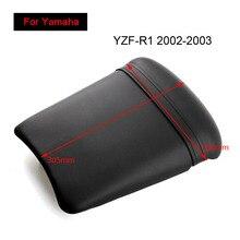 купить For Yamaha YZF-R1 2002 2003 Rear Seat Cover Cushion Leather Pillow YZF R1 Motorcycle Passenger Seat по цене 1028.91 рублей