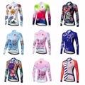 Radfahren lange hülse Jersey frauen Bike Jersey 2018 straße MTB fahrrad Kleidung Berg team maillot Racing Shirts Ropa Ciclismo-in Rad-Trikots aus Sport und Unterhaltung bei