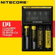 Carregador de Bateria com Display LCD para 1450016340 Original Nitecore D4 Digi Inteligente Rcr123 1865022650 26650 AA AAA