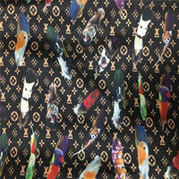 Hight quality African Fabric soft Satin Silk Fabric African style Satin wax fabric for dresses ! J42415