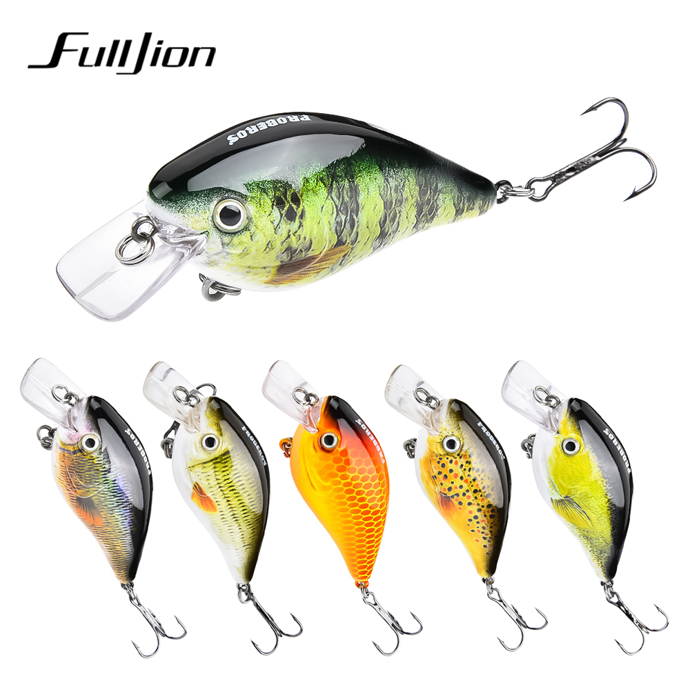 PROBEROS Crank Fishing Lures Wobbler Crankbaits For Striped Bass Fishing Tackle Hooks 3D Printing Artificial Hard Baits Pesca