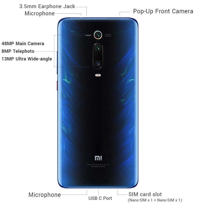Новая глобальная версия Xiaomi mi 9T (Red mi K20) 6GB 64GB мобильный телефон Snapdragon 730 48MP задняя камера всплывающая фронтальная камера 4000mAh