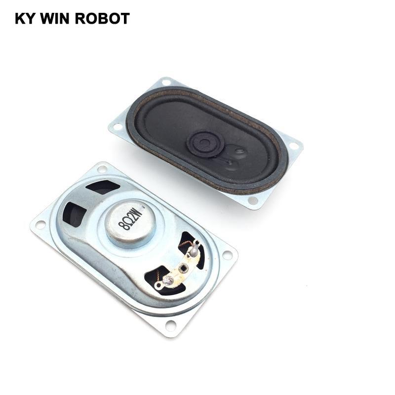 Купить с кэшбэком 2PCS/Lot LCD Monitor/TV Speaker Horn 2W 8R 4070 Loud speaker 8 ohms 2 Watt 8R 2W 40*70MM thickness 20MM