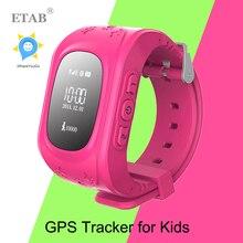 ETab SW015 Child Wristwatch SOS GSM Phone Call Baby Bluetooth GPS Location Tracker child Safety Smart watch Q50 Kid GPS Watch