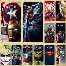 Super herói caso do telefone capa para samsung galaxy a3 2015 a300 a300f a300fu capa traseira para galaxy a5 2015 a500f a500 SM-A500F a500h