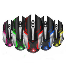 2016 Estone PC Computer Mouse Macro 4000DPI Led Optical 6D USB Wired game Gaming Mouse Game For Laptop Upgrade S0A22 T61