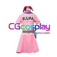 CGCOS hot Dragonball Z Bulma Dragon Ball Z Dress Game Cos Anime Cosplay Costume Daily Use Uniform Helloween Custom made