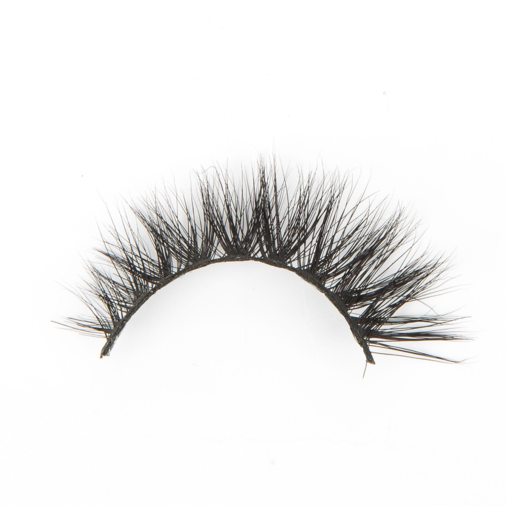 Ali express hotselling new styles L015 mink false eyelashes with custom magnetic box private label
