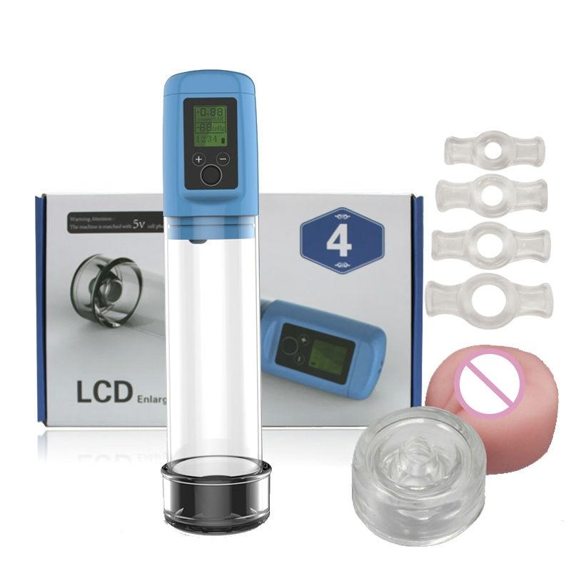 Penis Enlargement Erection Electric Aid Impotence Helper,Rechargeable PENIS PUMP,Lithium Battery usb+wall plug Minotaur Xtendaur
