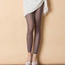 Femmes Mesh Transparent Leggings Sexy Voir À Travers Pantalon Pour Dames  Érotique Lingerie Club Wear Bonbons ef7b0d7acaf