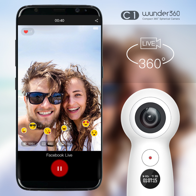 Wunder360 4K Panoramic Camera