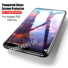 2pcs Tempered Glass For Huawei P20 Pro Screen Protector P20