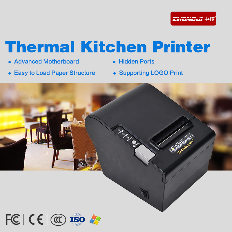 80mm Thermal Printer for Kitchen