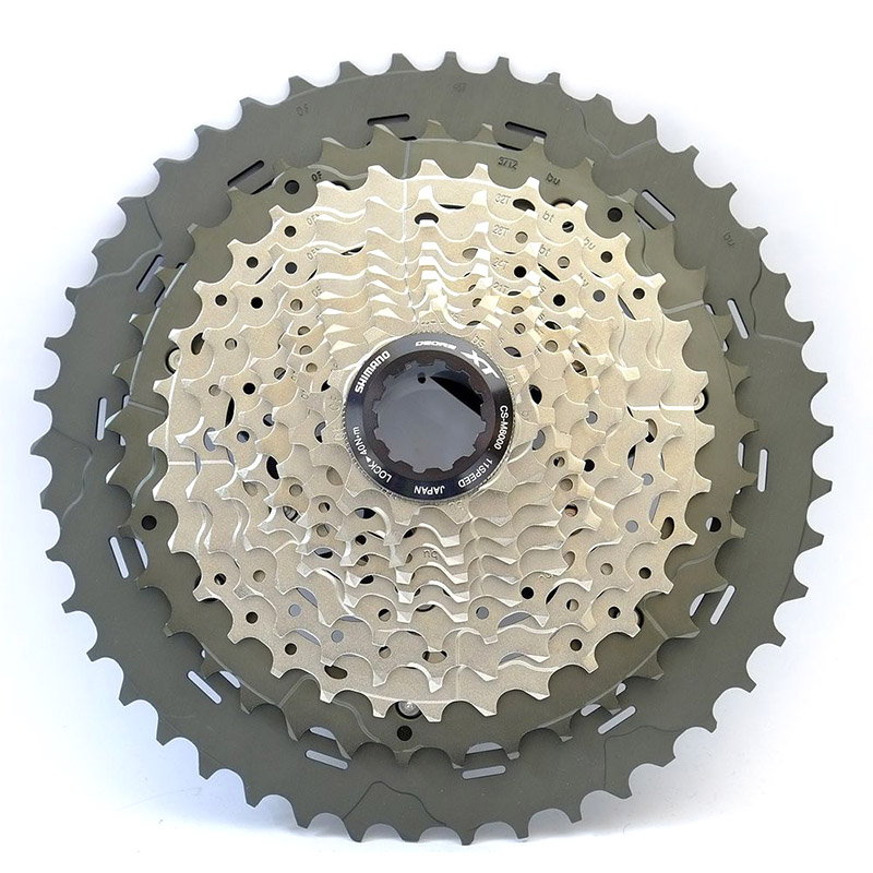 Shimano CS M8000 XT 11S Speeds 11 42T 11 46T MTB Bicycle Bike Cassette Freewheel