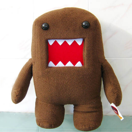 30CM Kawaii Domo Kun Plush Toy Soft Stuffed Toys Pink Domokun Funny Dolls Creative Gift Domo-Kun Plush Toys for Kids 8 cm domo kun plush toys phone charm pendant lanyard doll bag key chain domokun funny kawaii plush toy