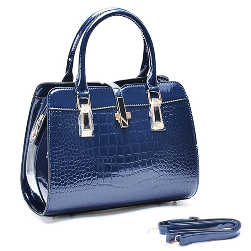 Hot Style!  New fashion women handbags designer Alligator patter blosa feminina