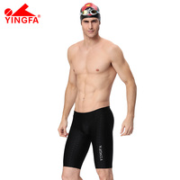 YINGFA Swimsuit boy's low rise sexy pouch man swimming professional Bathing Suit Racing Competition Boxer Shorts Sport shorts