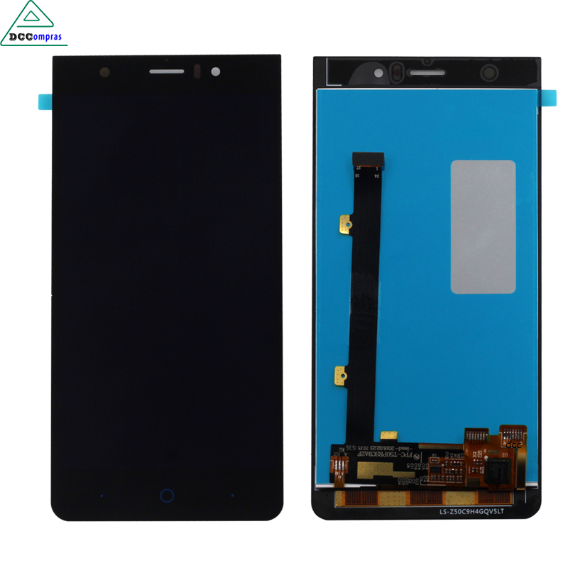 Black LCD Screen For ZTE Blade A515 A511 LCD Display Touch Screen Digitizer Assembly Replacement Free Tools zte blade a515 черный
