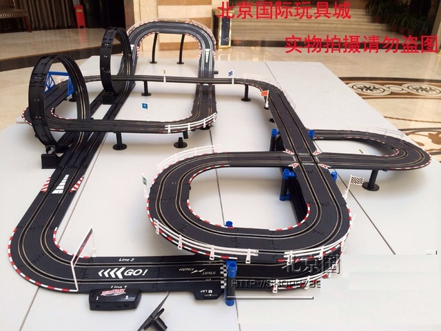 Super Large Hand Manually Generation Rc Car Track Electric Motor Train Toy Best Gift Carrera Remote Control Toys