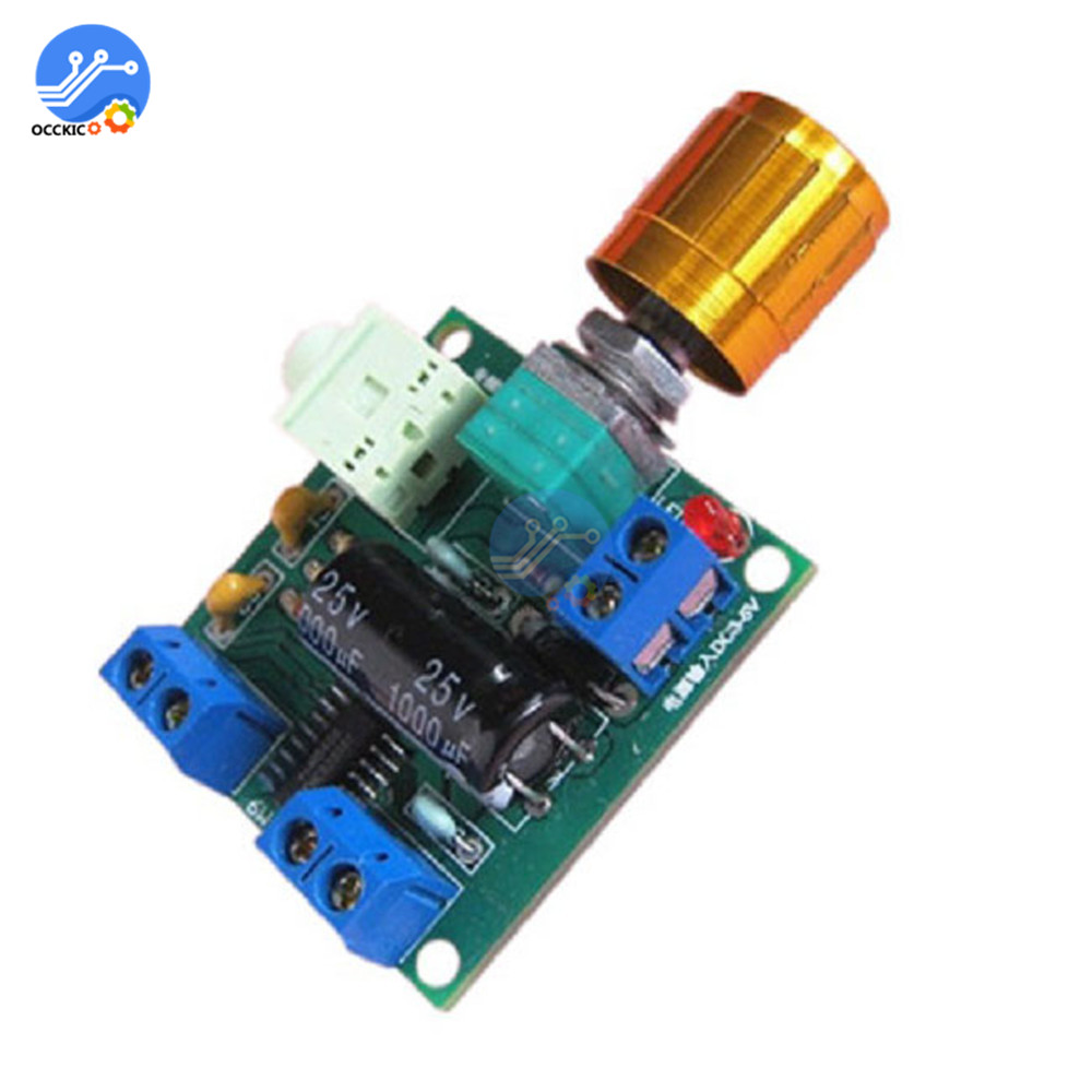 PAM8406 Digital Amplifier Board DC3-5V 6W+6W Stereo Class D Dual Channel AMP Audio Speaker Sound Board Volume Control