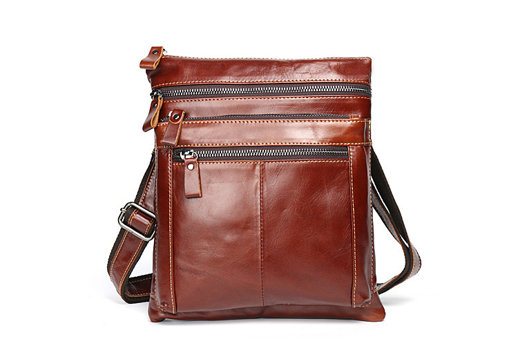 High Quality Genuine Leather Bag Men Bags Men's Messenger Flap Shoulder Crossbody Bags For Men Handbags Briefcases