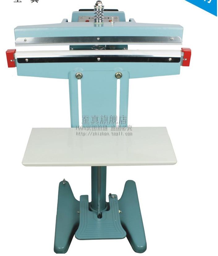 Foot Pedal Impulse Sealer ,heat sealing machine,Plastic Bag sealer DUAL TOP- BOTTOM HEAT 350mm 13 inch PEDAL SEALER Y313