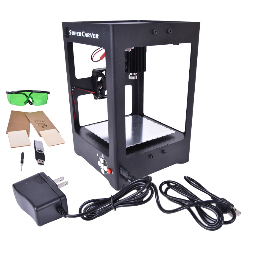 SUKA-K2 CNC 1000 mw Laser Engraving Machine Laser Engraver DIY Home Electric Miniature USB Mini Printer Of Equipment