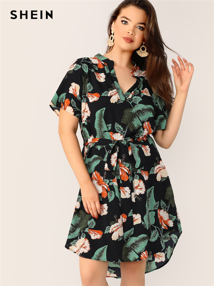 0b86df25fb29a best plus size tropical dresses brands and get free shipping - c80389d8