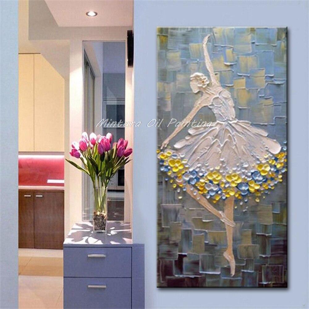 óleo sobre tela arte da parede para sala estar decoração casa