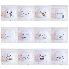 New cute face foam particles stuffed toys keychain or children s toys