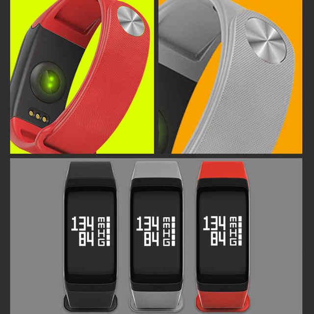1PCS Waterproof Sports Fitness Tracker Wristband Pedometer Bracelet Heart Rate Monitor Smart Wristband