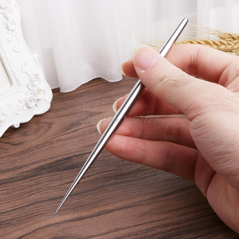 Stainless steel Rod Detail Needles For Pottery Modeling Carving Clay Sculpture Ceramics Tools For Model Cloth Line Texture Oct17