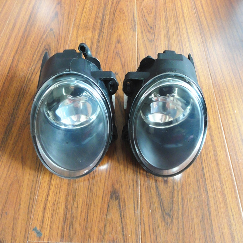 1Pair Front Fog Lights Bumper Driving Fog Lamps LH+RH For BMW E53 X5 Series 2003-2006 1pair rh lh side front bumper fog lamps lights with bulbs for mazda 5 2006 2010