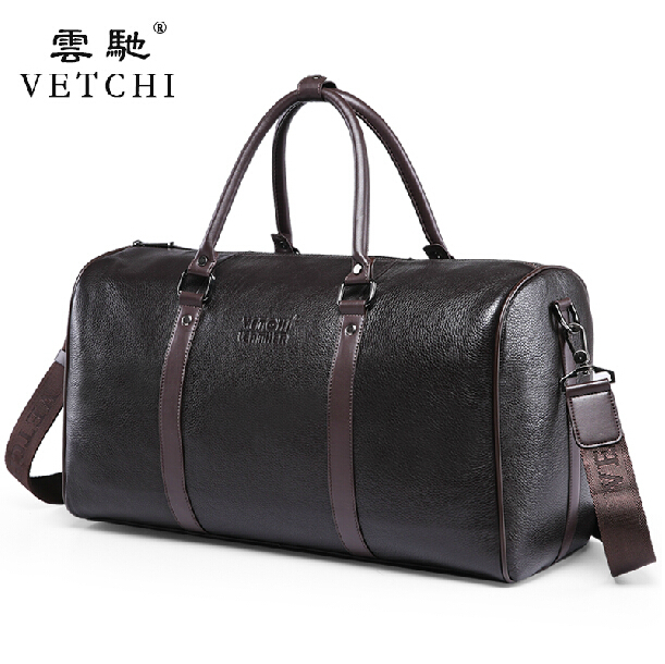 100% Guarantee First Layer of Cowskin men's travel bags Vintage Brand Genuine Leather handbags Big men Business Luggage bag 7071lc free shiping 2015 brand genuine leather travel bag first layer of cowhide travel bags for men tote bag