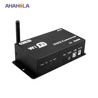 12 В wi-fi конвертер, конвертировать wifi сигнал в сигнал dmx светодиодные лампы диммер контроллер выход dmx сигнала только телефон IOS Andriod использов...