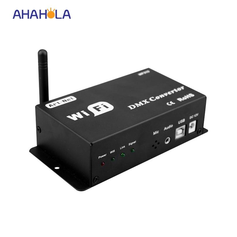ФОТО dc 12v wifi converter,convert wifi signal into dmx signal led lamp dimmer controller output dmx signal