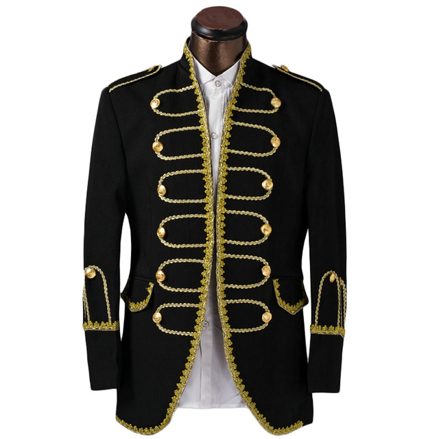 luxury costume homme mariage tuxedo jacket men suit fashion gold edge mens suits groom wedding