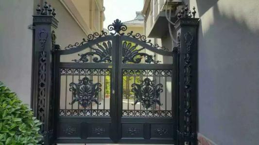 Home Aluminium Gate Design / Steel Sliding Gate / Aluminum Fence Gate Designs Hc-ag34