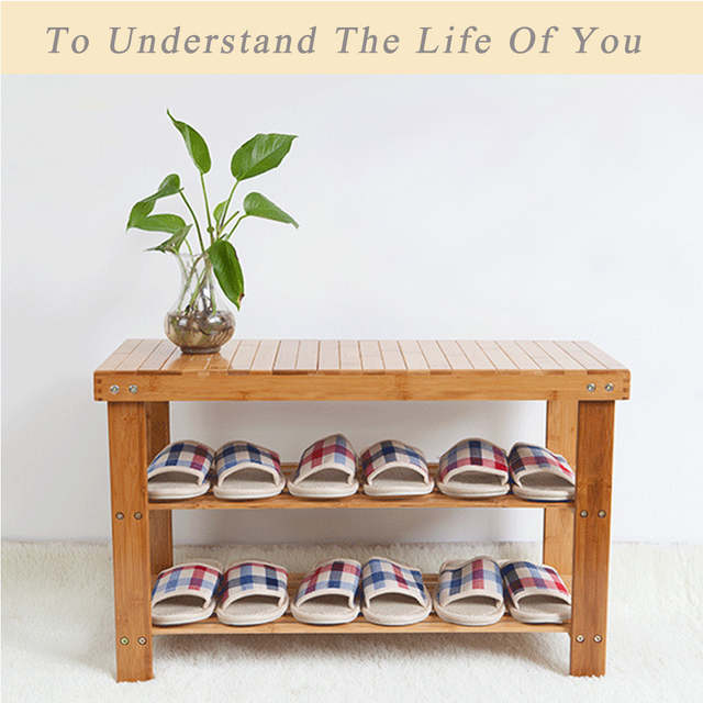 Cool Us 4 5 55 Off 2019 Hot New Products Bamboo Stool Shoe Cabinet Shoe Rack Garden Foot Stool Storage Stool Simple Style Shoe Rack Furniture In Shoe Beatyapartments Chair Design Images Beatyapartmentscom