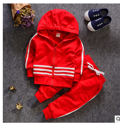 WPMST Boy Girl Set Children Clothing Baby Suit Kids Clothes