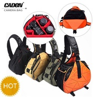 DSLR Camera Sling Shoulder Cross Bag Oblique Cross Waterproof Camera Bag Men Women Messenger Bags For