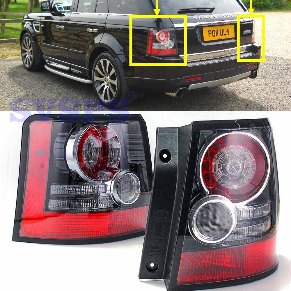 auto parts OEM OE Rear Tail Stop Lights lamps For Land Rover Range Rover Sport 2005-2013 year Tail Brake Lights Reflector 1 pair rear tail brake lights bumper reflector tail brake stop light for land rover range rover sport 2005 2006 2007 2013