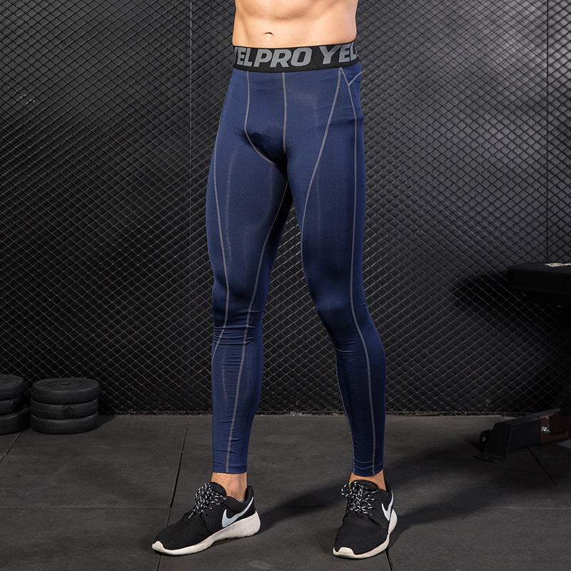 2018 New Man Pro Sports Pants Sportswear Running Fitness Bodybuilding Breathable Wicking High Elastic Quick Dry Tank