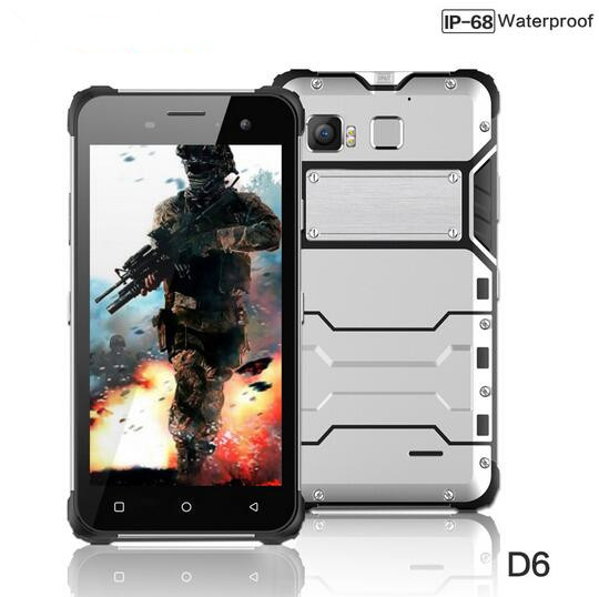 JEASUNG D6 IP68 Waterproof Mobile Phone MTK6755 Octa Core 4GB RAM 64GB ROM Fingerprint 13MP 1920