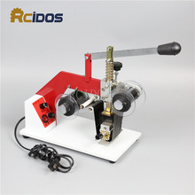 ZY RM5 E leather batch number stamping machine RCIDOS Color Ribbon Hot Printing Machine Heat ribbon