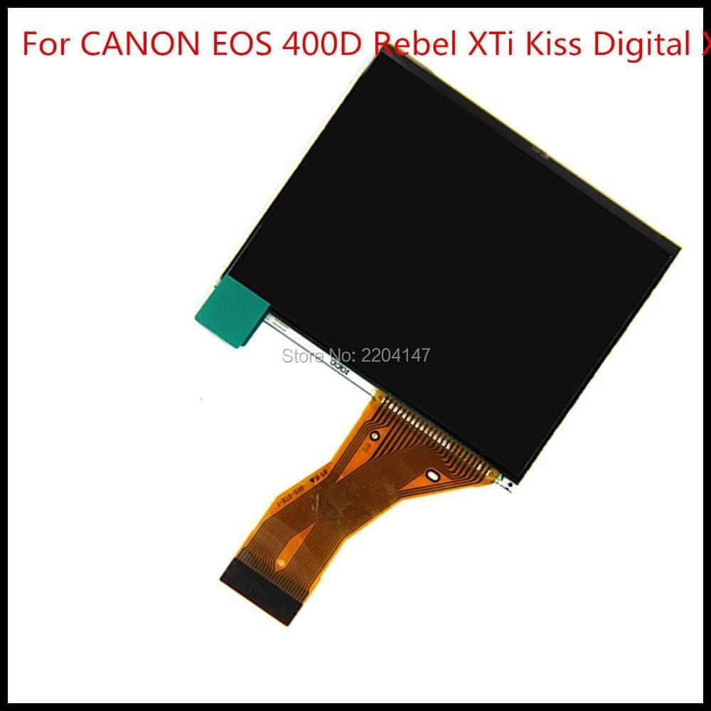 NEUE LCD Display Für CANON EOS 400D Rebel XTi Kiss Digital X DS126151 Digitale X DSLR Digitalkamera Reparatur teil