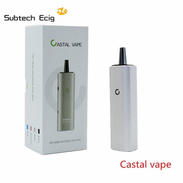 Original VAX mini Castal vape wax & dry herb vaporizer 3000mah battery  electronic cigarette best vape