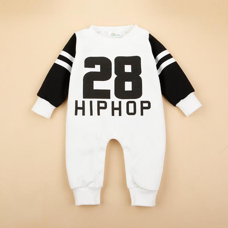 Hip-Hop Baby Boy Romper Jumpsuit