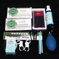 1 Conjunto Kit de Extensão de Cílios Profissional Portátil Moda Enxertia Cílios Conjunto de Extensão Com Cola
