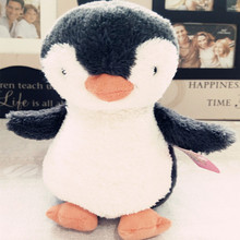 1pc 16cm Kawaii Little Penguin Plush Toys Doll Cute Stuffed Animal Plush Toys Kids Baby Appease Doll Birthday Gift for Children